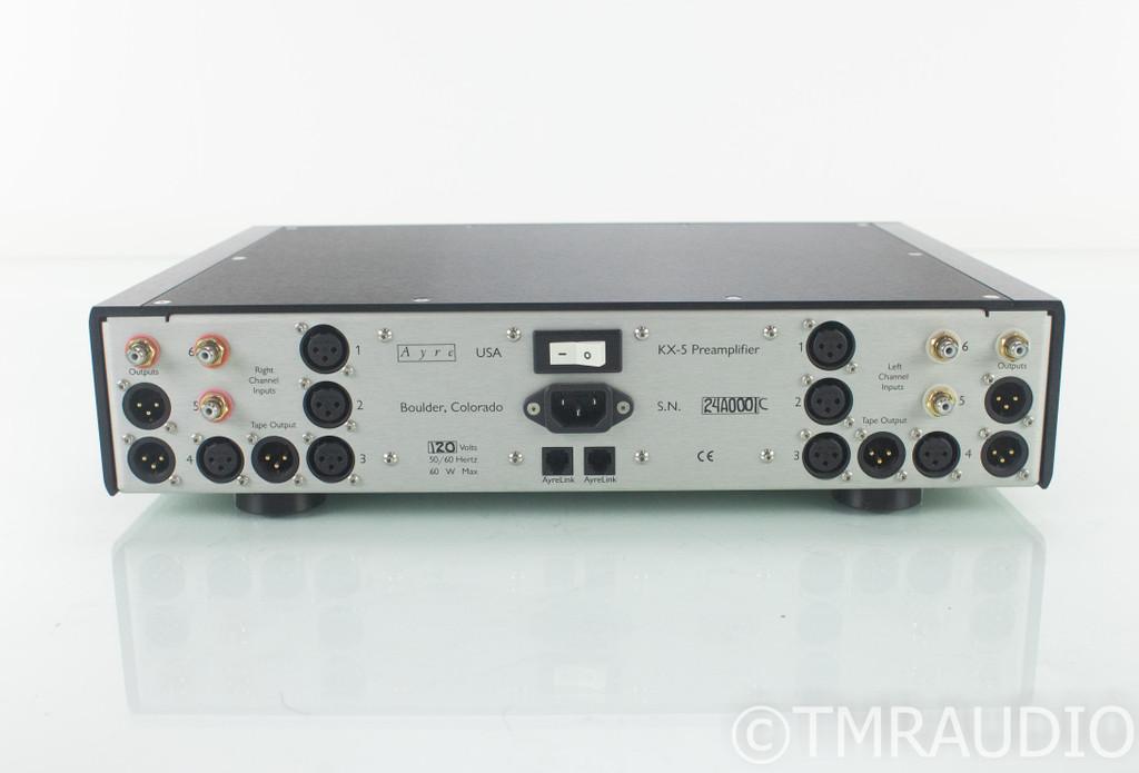 Ayre KX-5 Twenty Stereo Preamplifier; KX5; Remote
