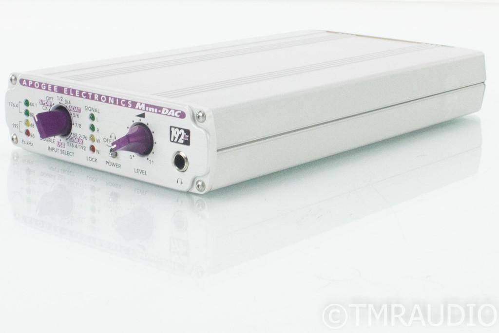Apogee Electronics Mini-DAC; D/A Converter; Firewire; 192k
