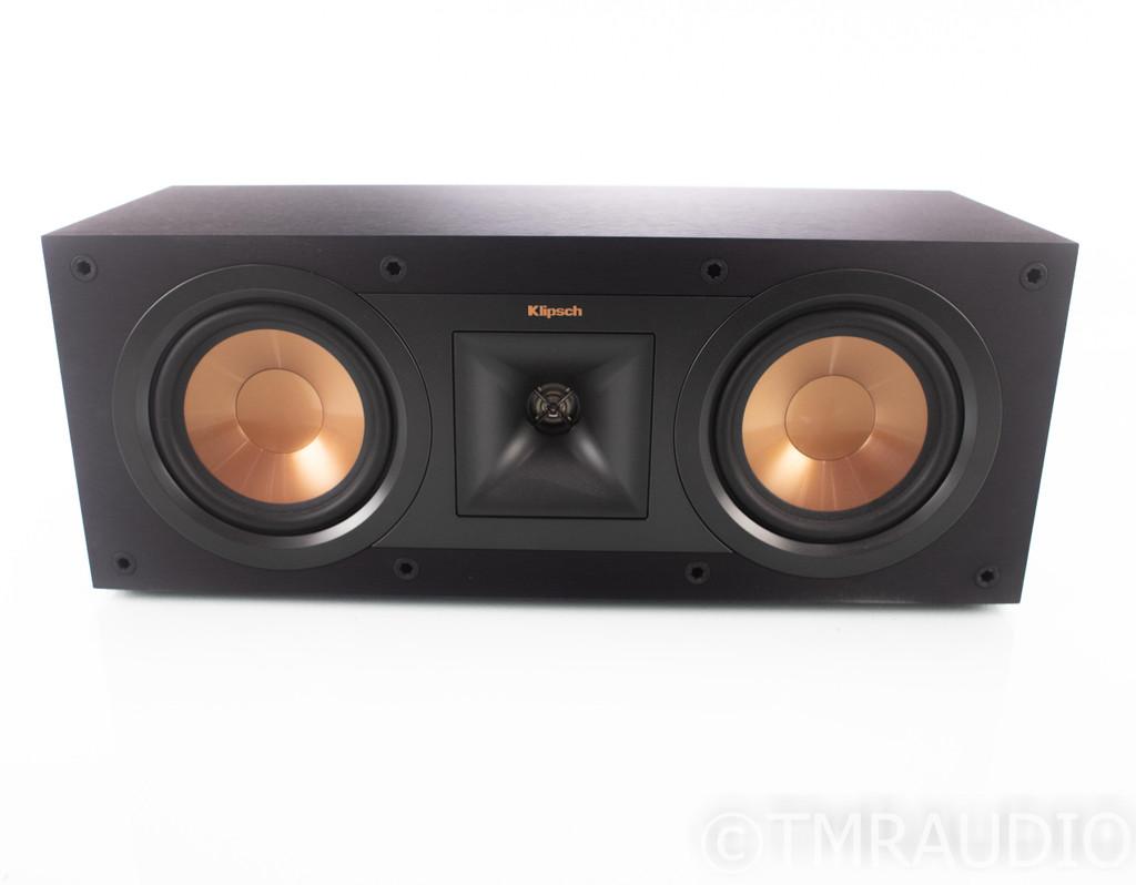 Klipsch R-25C Center Channel Speaker; R25C; Black