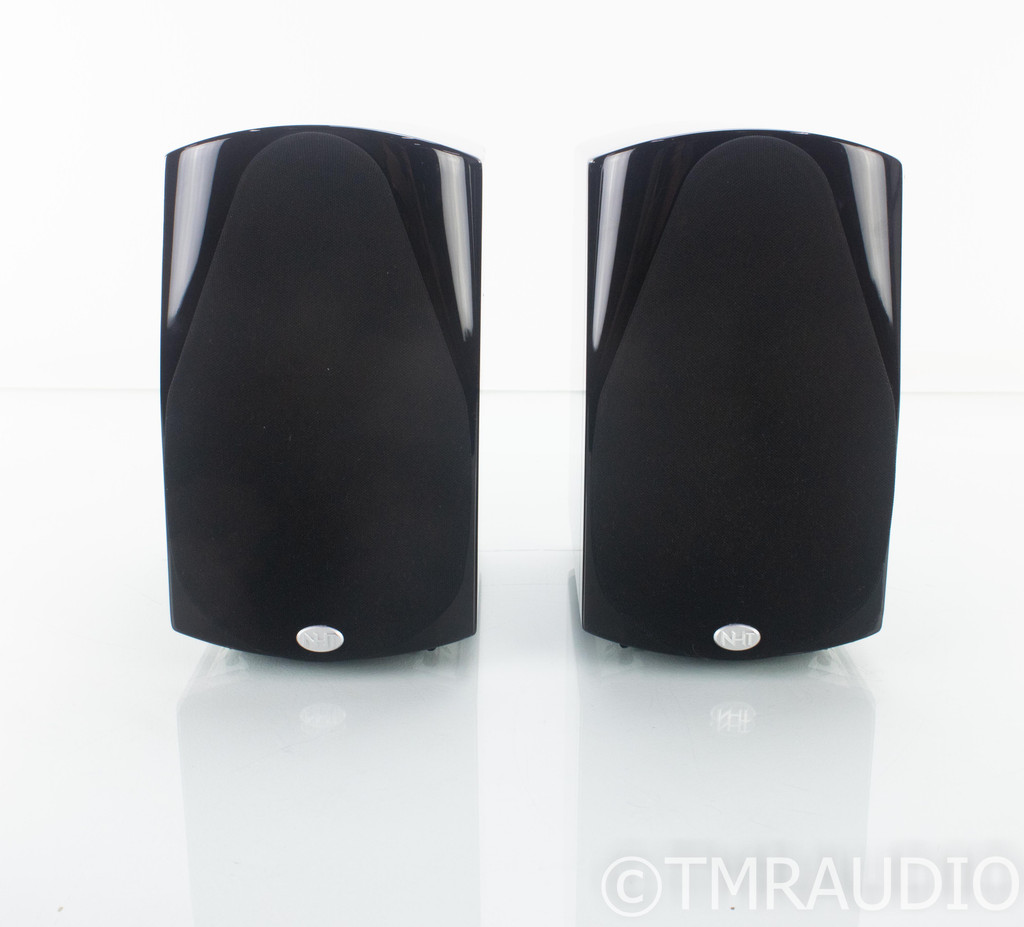 NHT Classic 2 Bookshelf Speakers; Gloss Black Pair