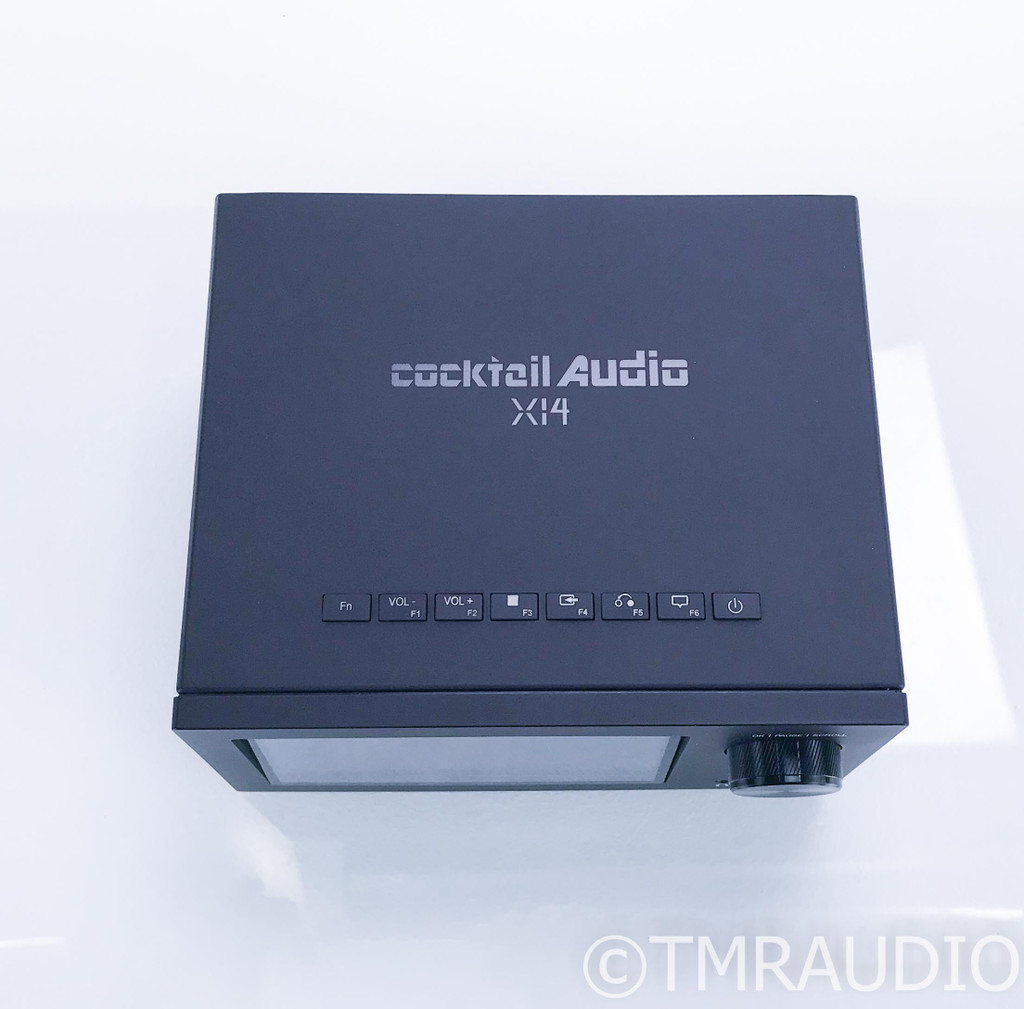 Cocktail Audio X14 Stereo Integrated Amplifier / Network Streamer; New/Open Box