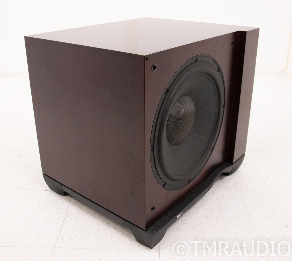 "B&W ASW4000 15"" Powered Subwoofer; ASW-4000; Rose Cherry; AS-IS (Defective)"