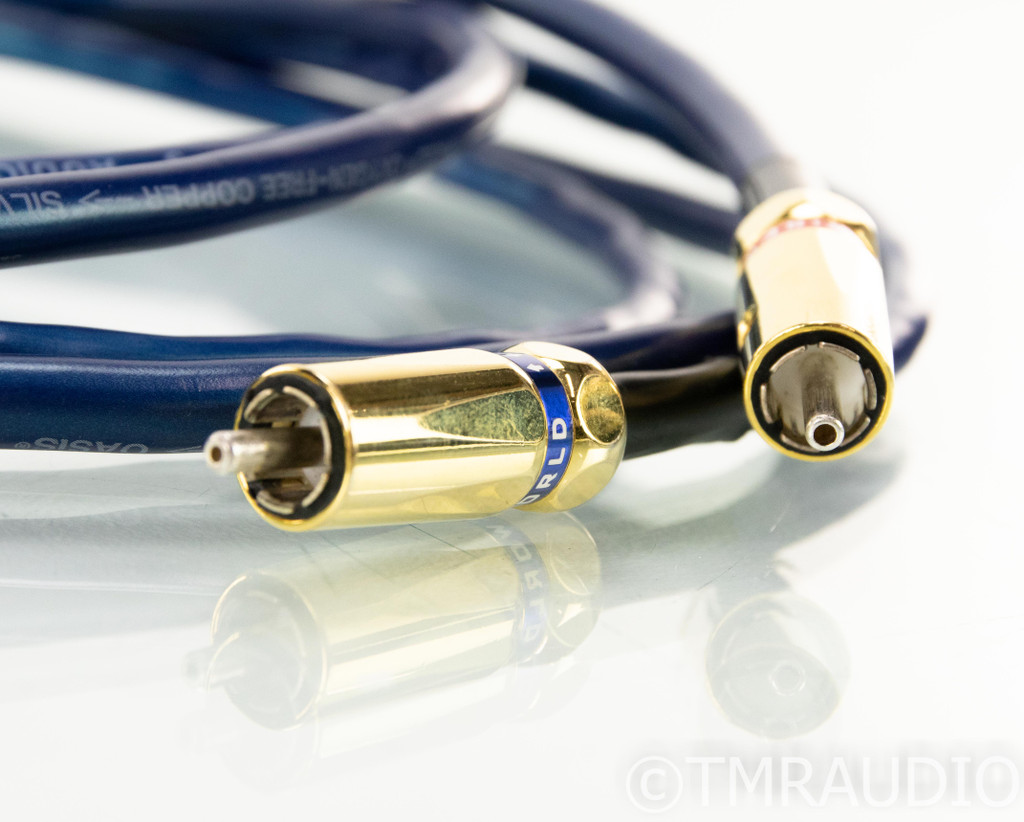 Wireworld Oasis 5.2 RCA Cables; 2m Pair Interconnects
