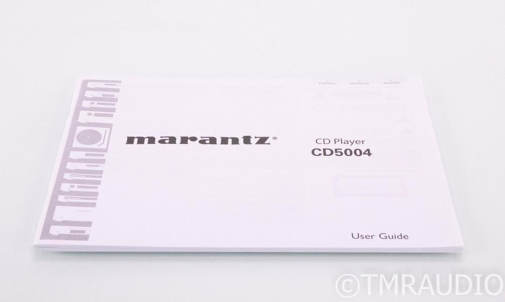 Marantz CD5004 CD Player; CD5004 (No Remote)