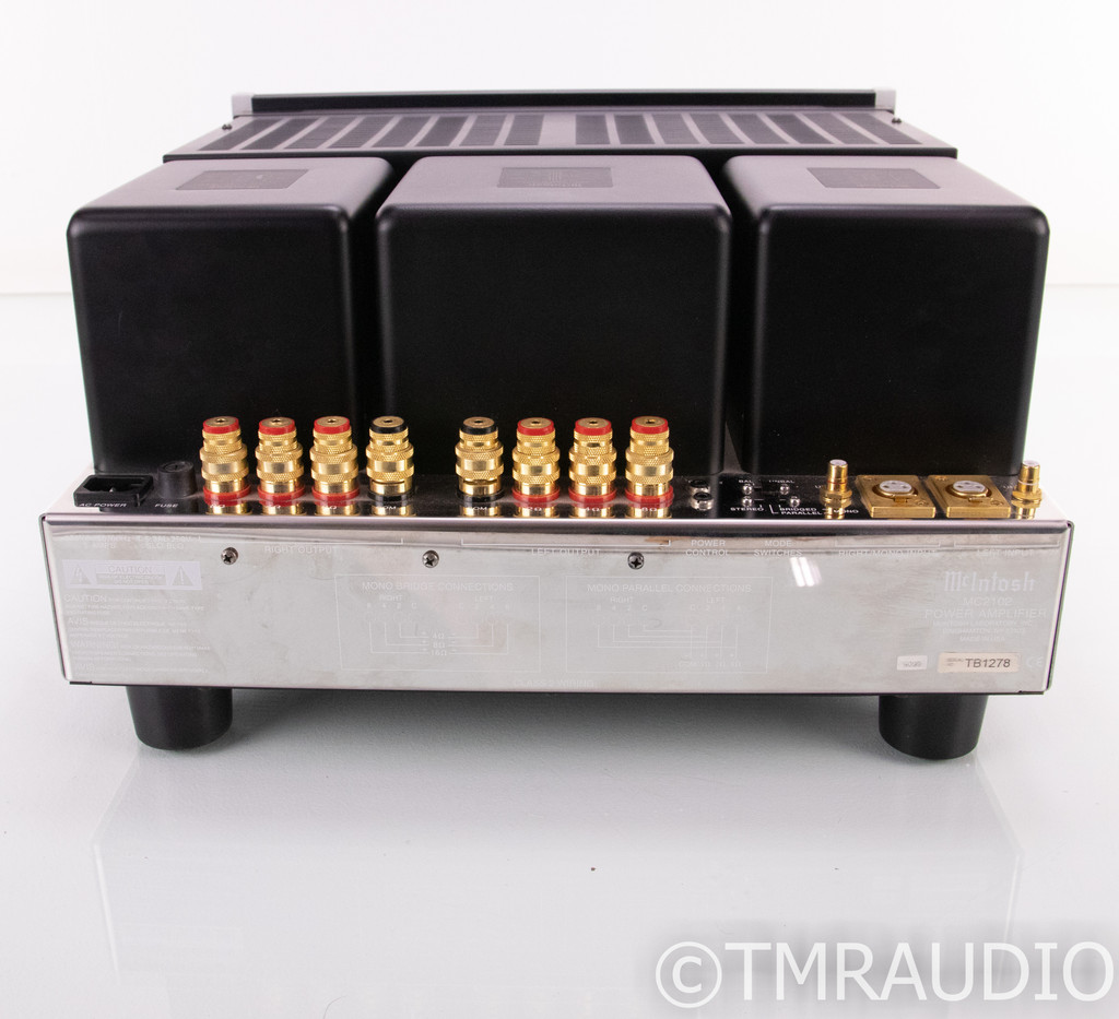 McIntosh MC2102 Stereo Power Amplifier; MC-2102