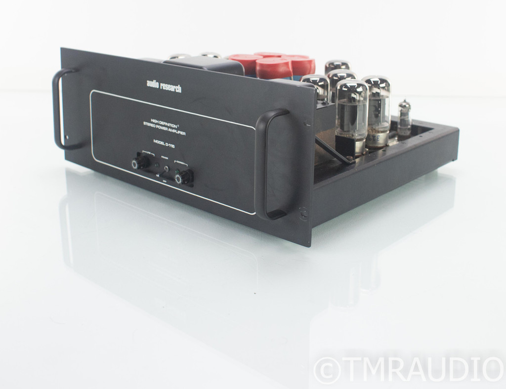 Audio Research D-115 Vintage Stereo Tube Power Amplifier