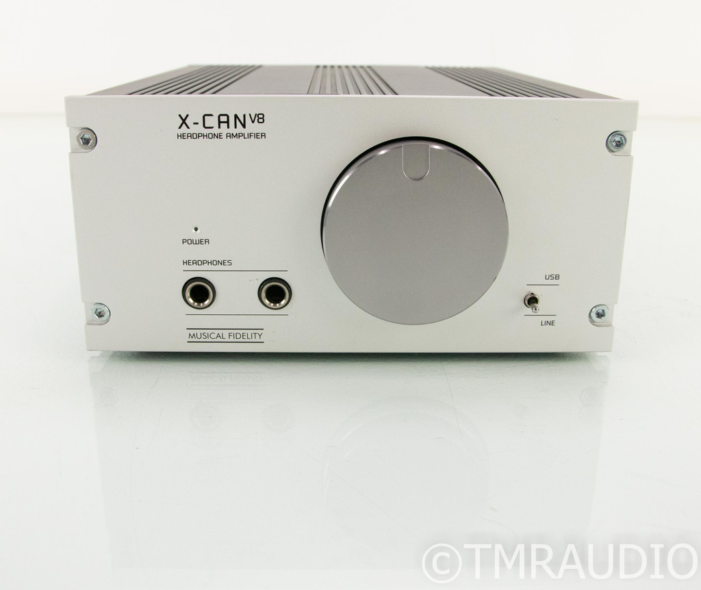 Musical Fidelity X-CAN V8 Tube Headphone Amplifier; Little Pinkie SE External PS