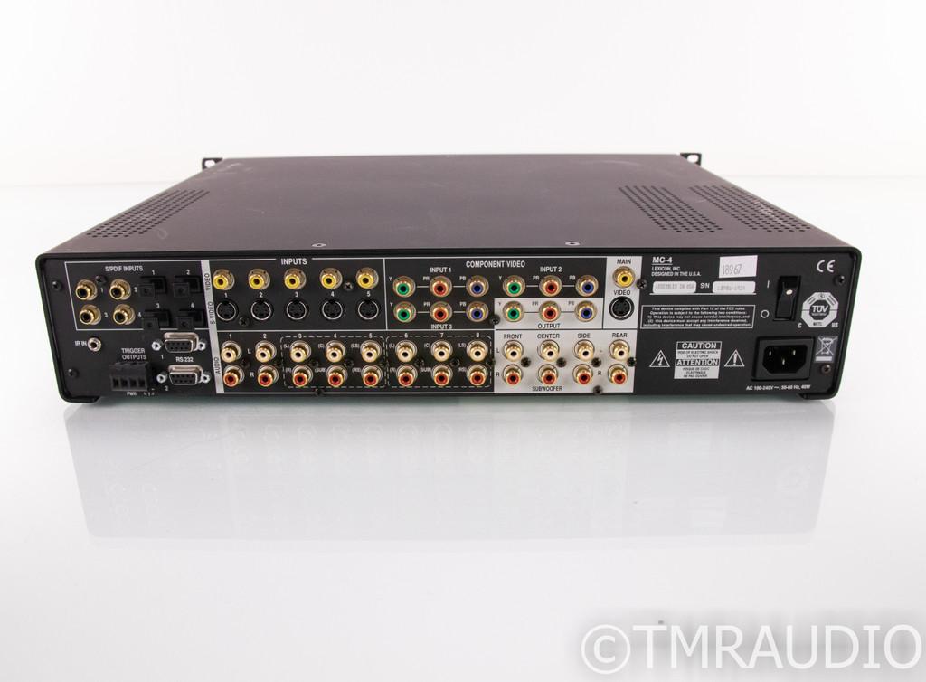 Lexicon MC-4 7.1 Channel Home Theater Processor; MC4 (No Remote)
