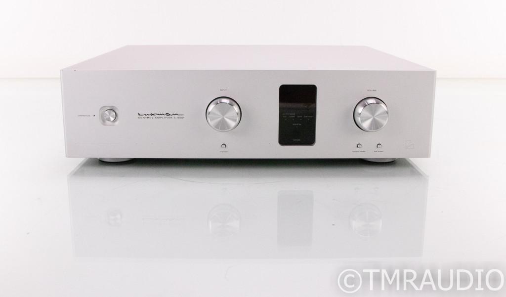 Luxman C-600f Stereo Preamplifier; C600F; Remote