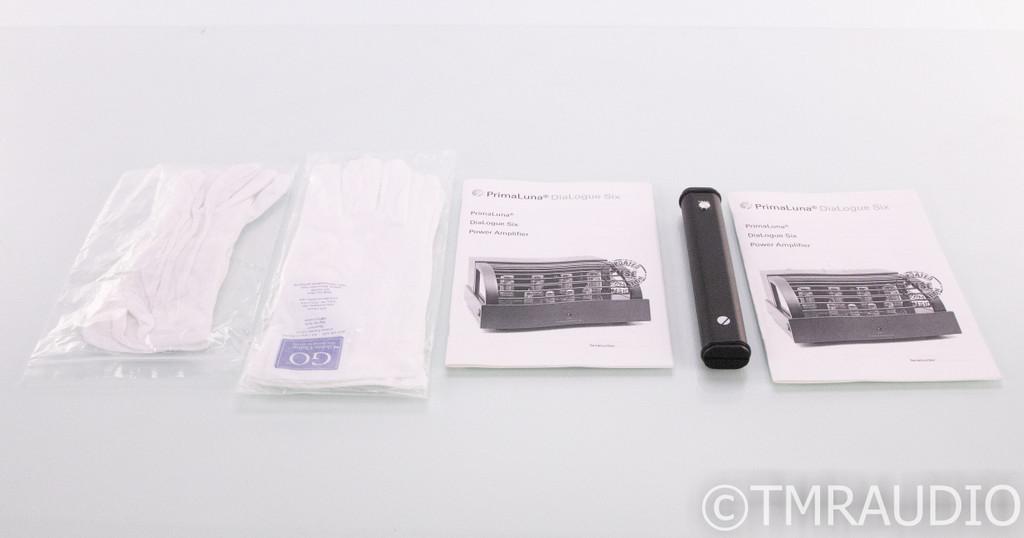 PrimaLuna DiaLogue Six Mono Tube Power Amplifier; Pair; Remote