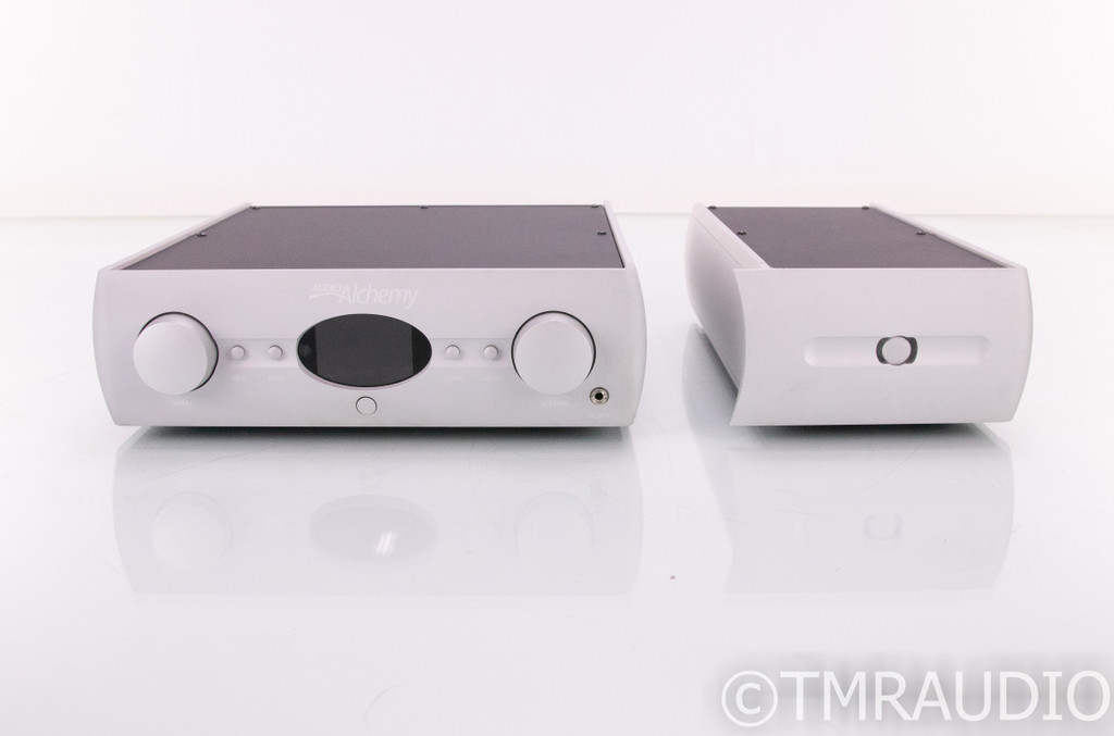 Audio Alchemy DDP-1 DAC / Preamplifier; Converter w/ PS-5 External Power Supply
