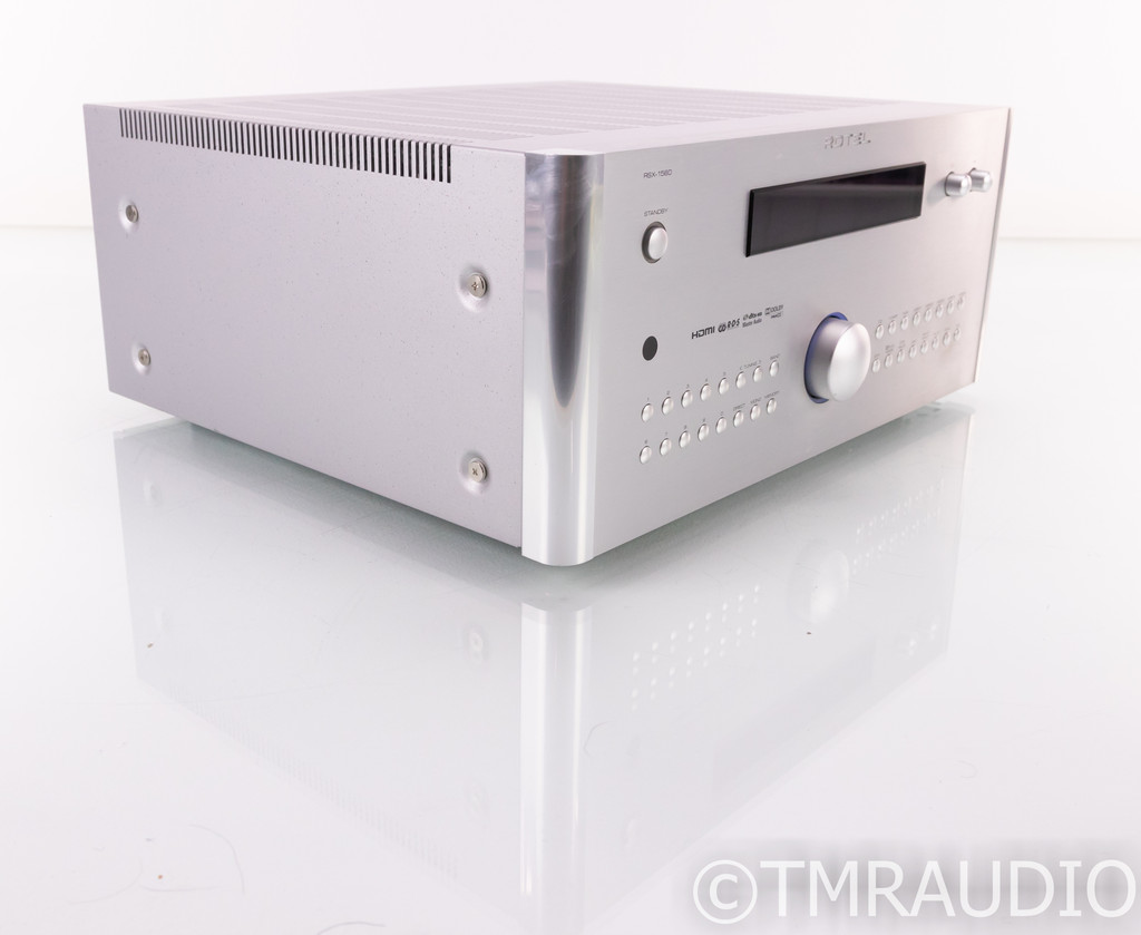 Rotel RSX-1560 7.1 Channel Home Theater Receiver; RSX1560; Remote