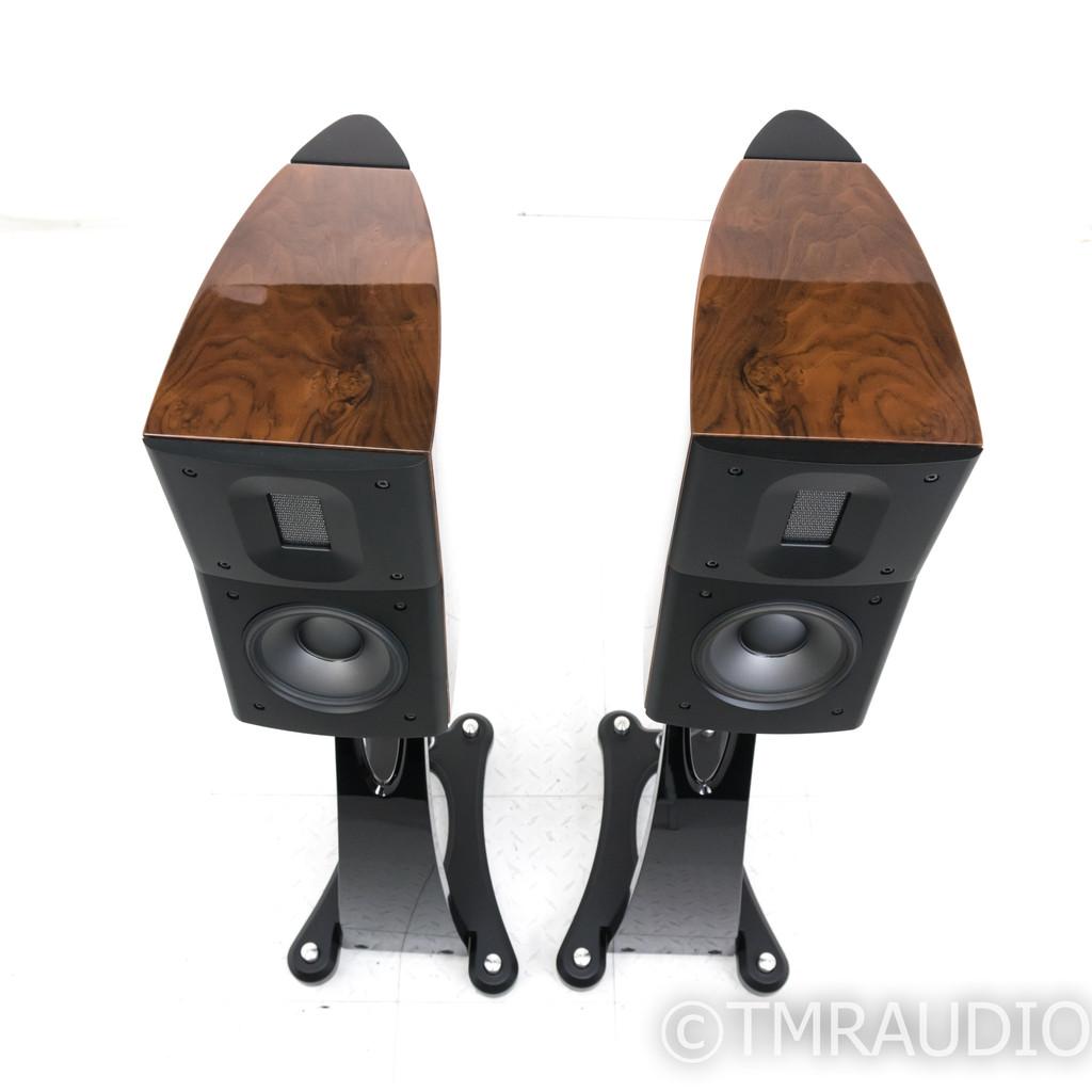 Raidho D-1.1 Bookshelf Speakers w/ Stands; Walnut Pair; D1.1