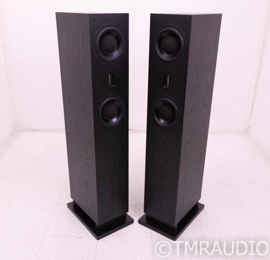 Proac Response D48R Floorstanding Speakers; Black Ash Pair; D-48R
