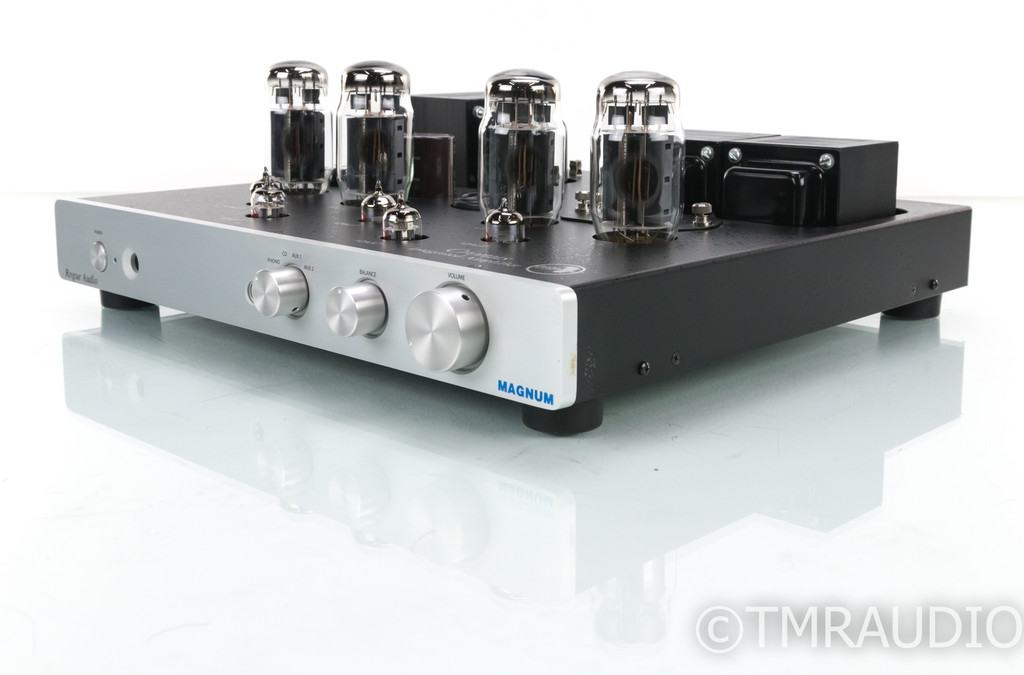 Rogue Audio Cronus Magnum Stereo Tube Integrated Amplifier; Remote