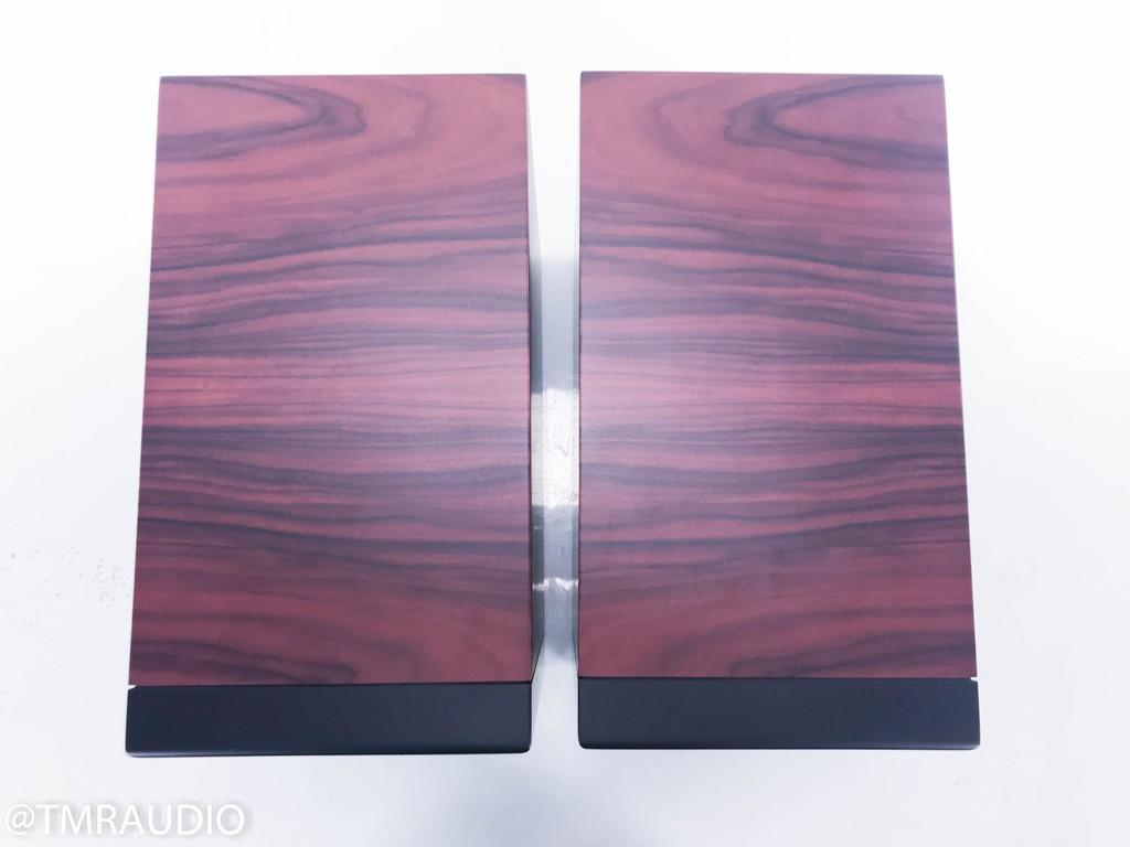 Silverline Minuet Grand Bookshelf Speakers; Rosewood Pair; Great Condition