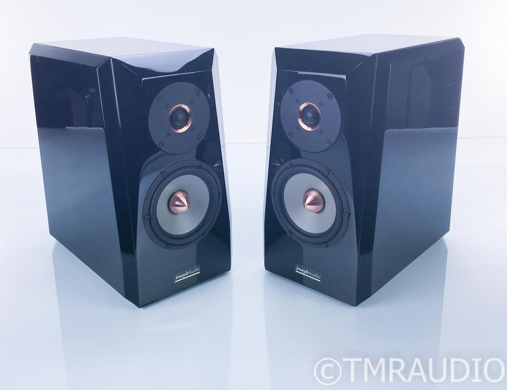 Joseph Audio Pulsar Bookshelf Speakers; Gloss Black Pair