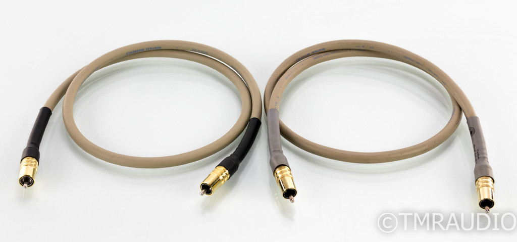 Cardas Neutral Reference RCA Cables; 1m Pair Interconnects