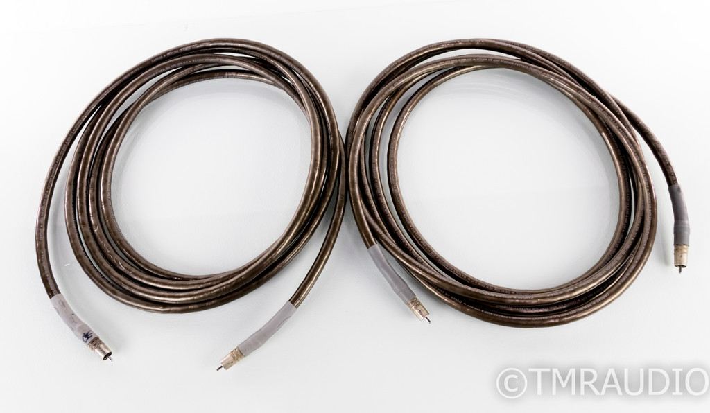 Cardas Hexlink Golden 5C RCA Cables; 5m Pair Interconnects
