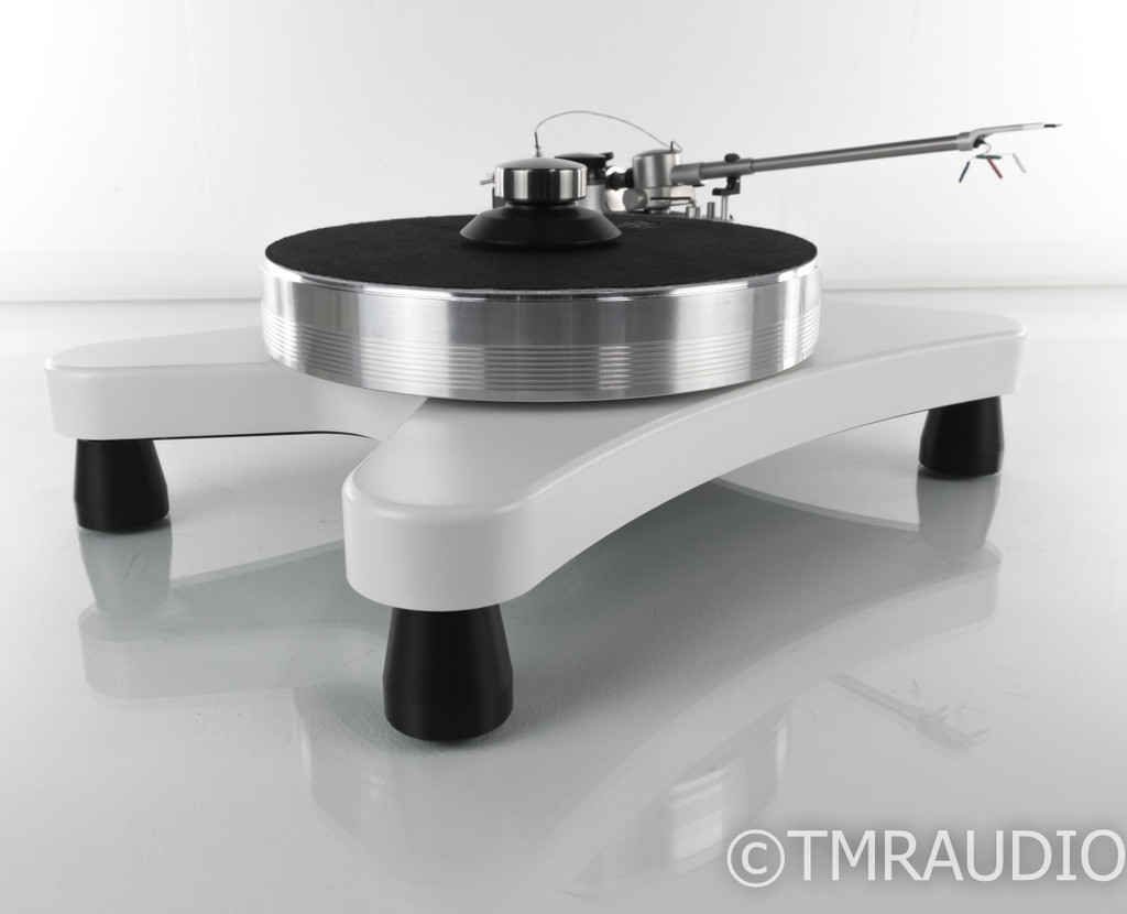 "VPI Super Prime Scout Turntable; 10.5"" JMW Tonearm; White w/ VTA On-The-Fly"