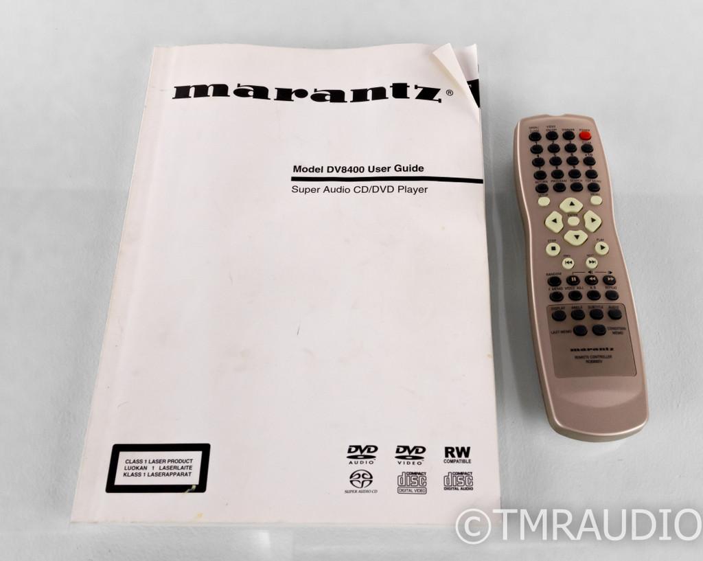 Marantz DV8400 SACD / DVD Player; DV-8400; Remote