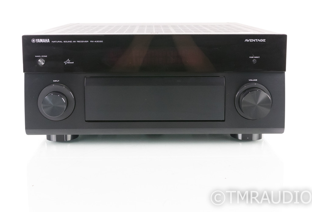 Yamaha RX-A3030 11.2 Channel Home Theater Receiver; Aventage; Remote; MM Phono
