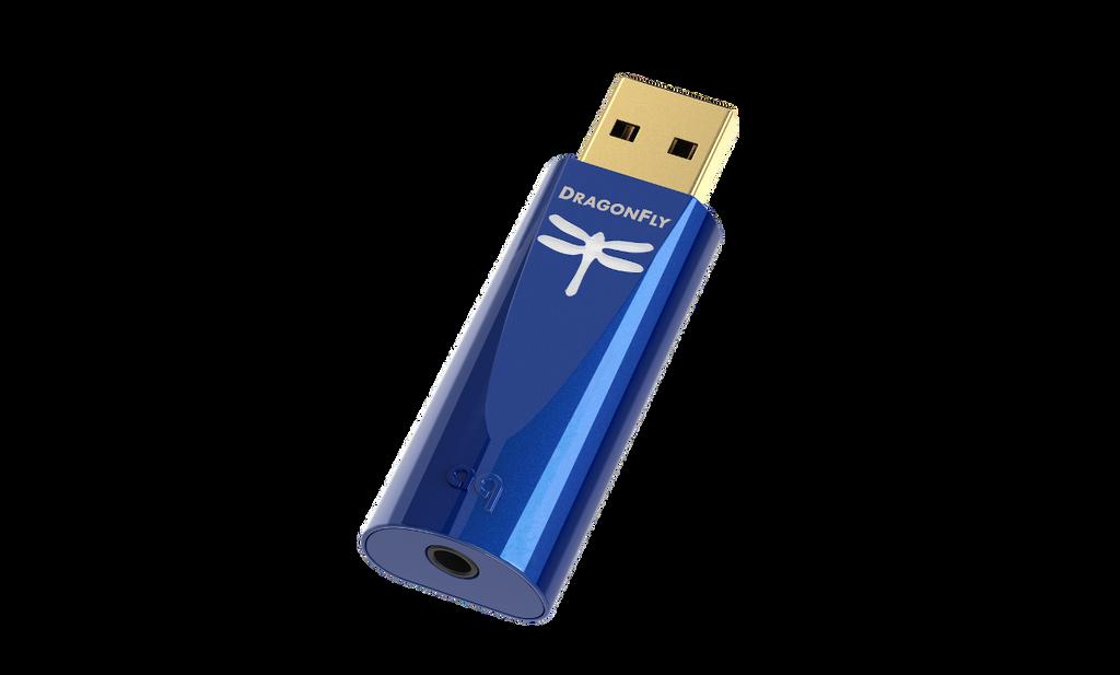 AudioQuest Dragonfly Cobalt USB DAC / Headphone Amplifier; New