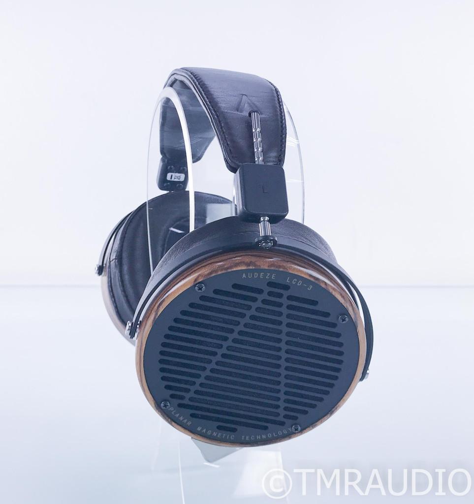Audeze LCD-3 Planar Magnetic Headphones; LCD3; Fazor