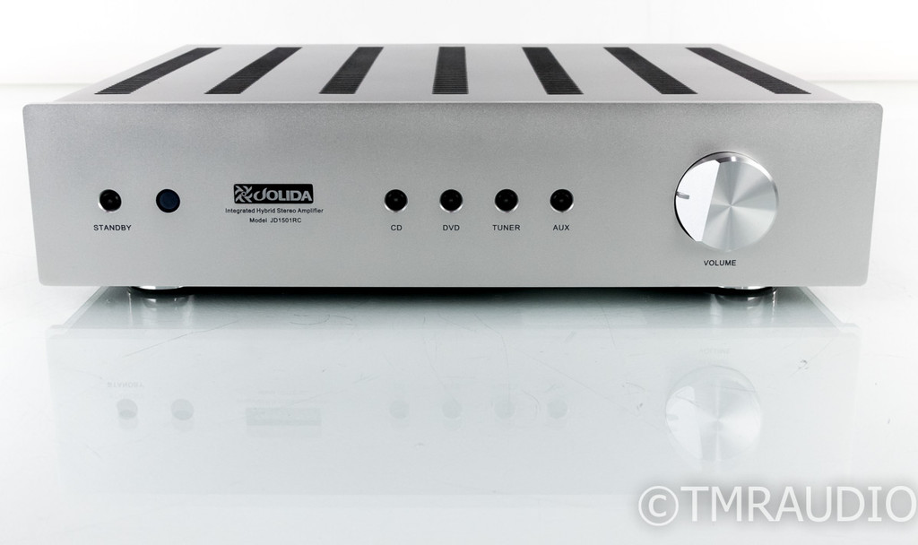 Jolida JD1501RC Stereo Integrated Amplifier; JD-1501 RC; Remote