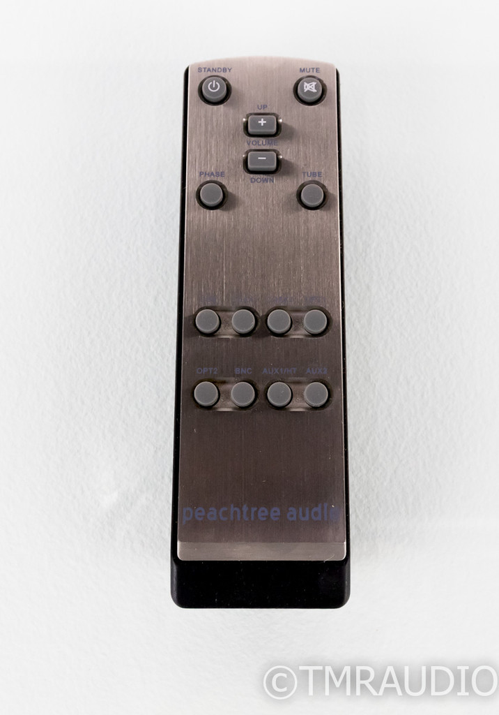 Peachtree Audio Grand Pre Stereo Tube Hybrid Preamplifier / DAC; Remote