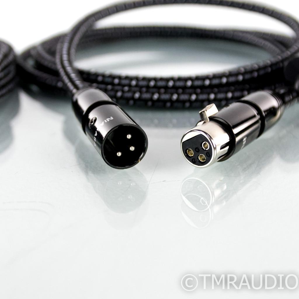 Audioquest Niagara XLR Cables; 3m Pair Balanced Interconnects; 72v DBS