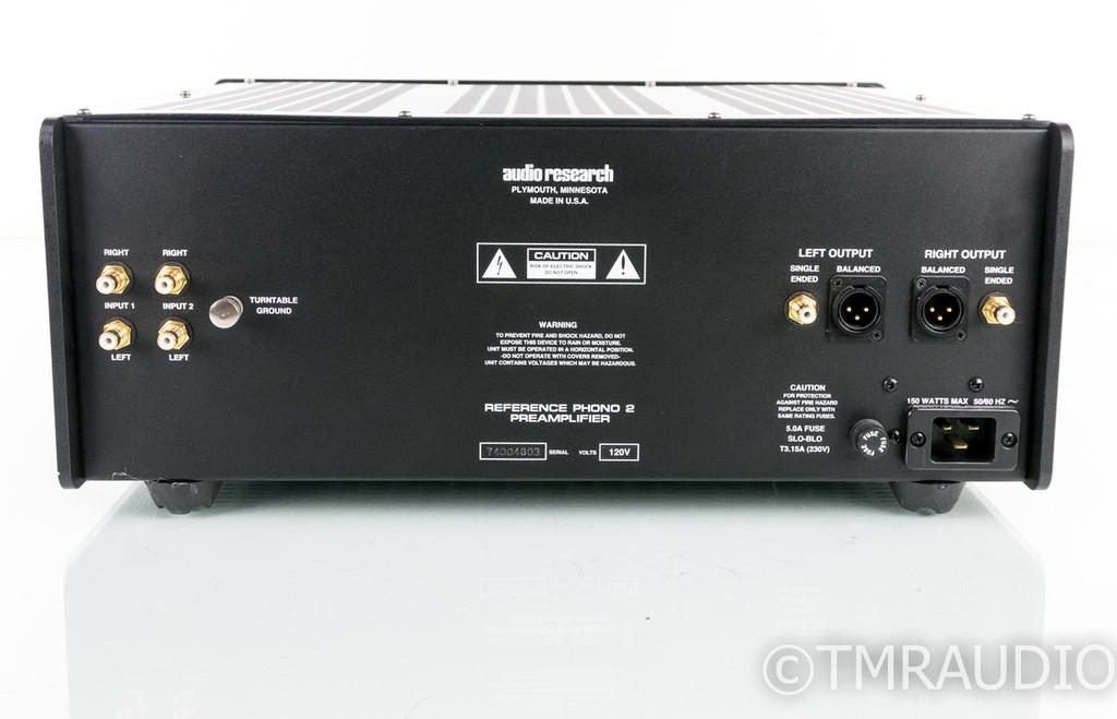 (HOLD NL Ramirez RMA 8/19) Audio Research Reference Phono 2SE MM / MC Phono Preamplifier; Remote