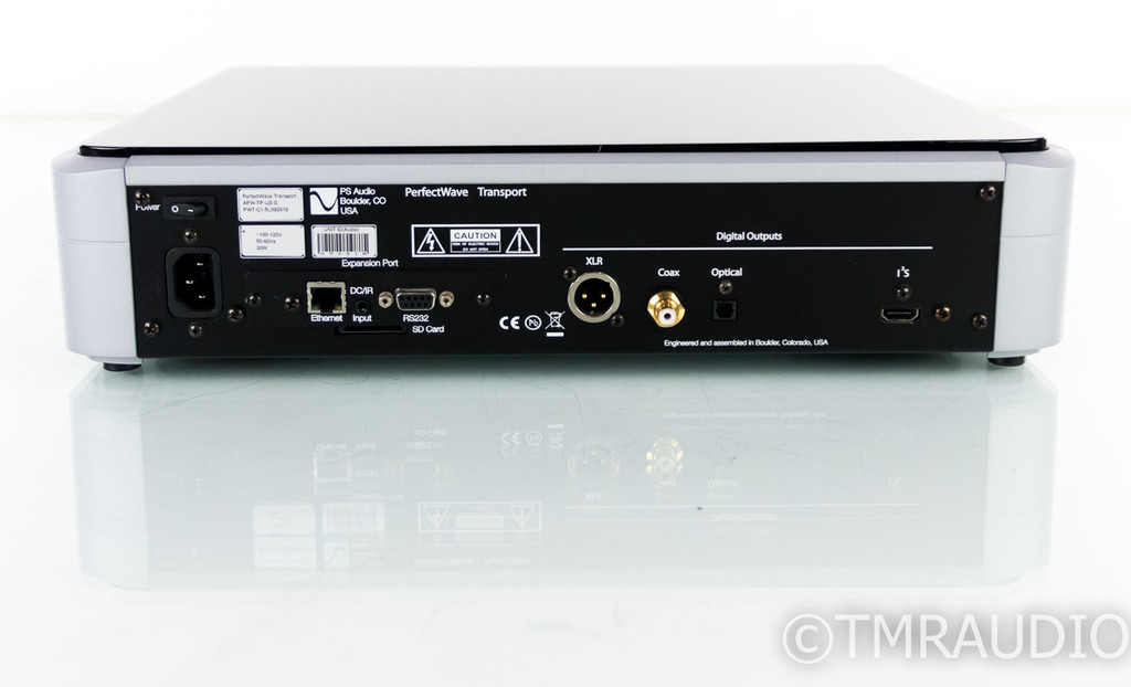 PS Audio PerfectWave Transport; Silver PWT; Refurbished w/ Warranty