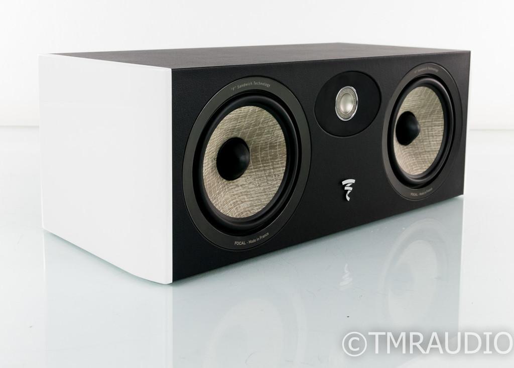 Focal Aria CC900 Center Channel Speaker; White Lacquer; CC-900