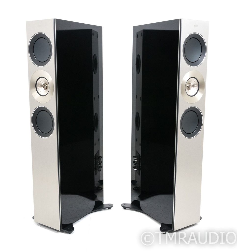 KEF Reference 3 Floorstanding Speakers; High Gloss Black Pair