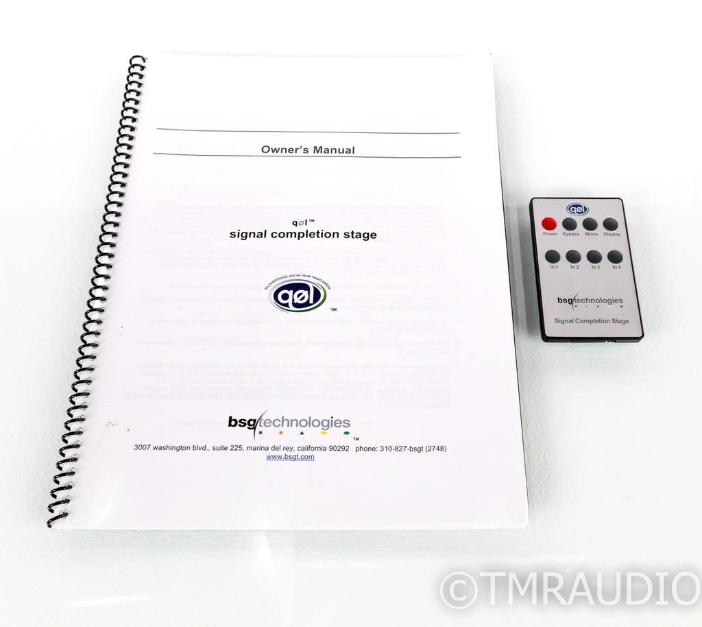 BSG Technologies QOL Signal Completion Stage; Preamplifier; Remote (1/1)