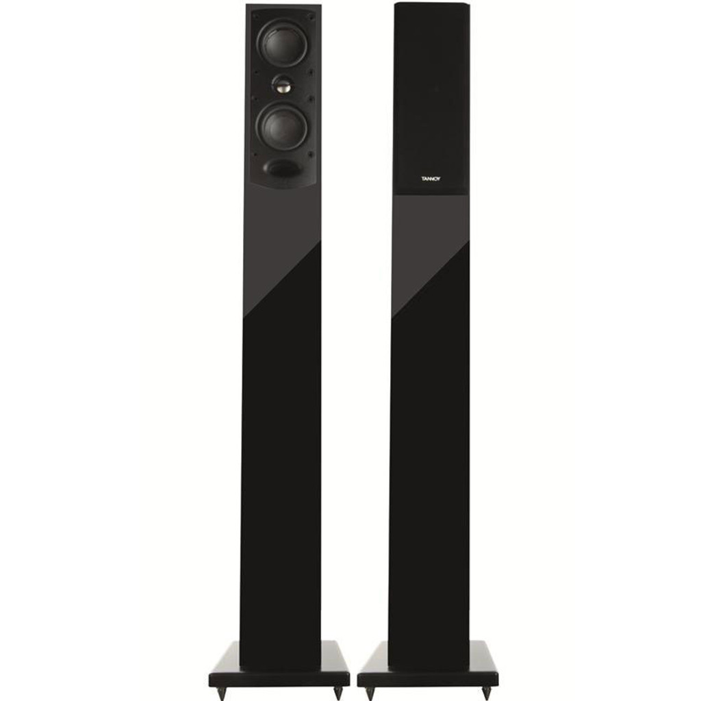 Tannoy HTS 200 Floorstanding Speakers; HTS-200; Black Ash Pair (New)