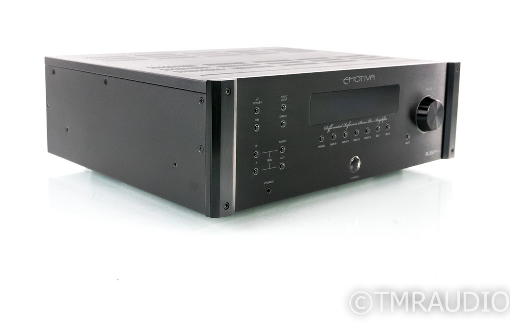 Emotiva XSP-1 Gen 2 2.1 Channel Preamplifier; XSP1 MkII; Remote