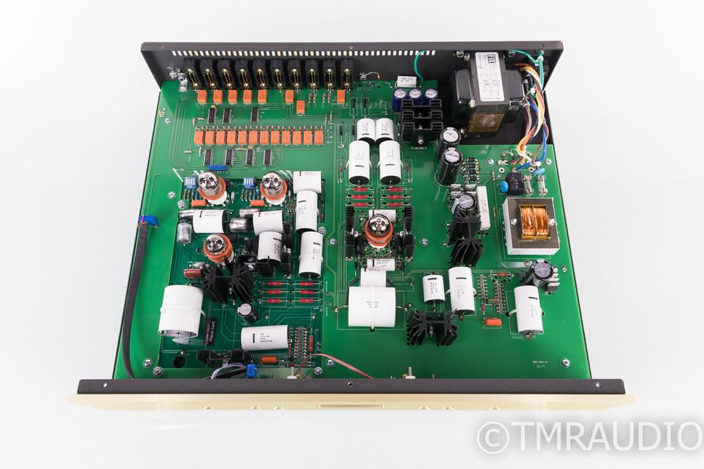 Conrad Johnson ET6SEPH Stereo Tube Preamplifier; ET6-SE PH; Remote; MM Phono