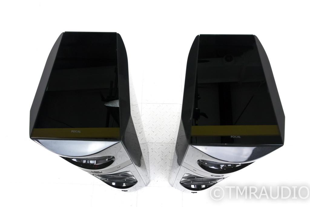 Focal 1038 Electra Be II Floorstanding Speakers; Black Lacquer Pair