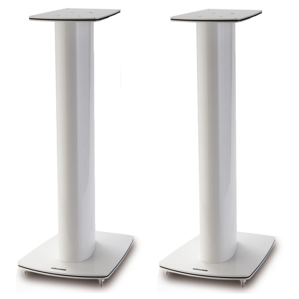 Dynaudio Focus 20 XD Powered Speakers; High Gloss Grey Oak Pair w/ Stands (New)