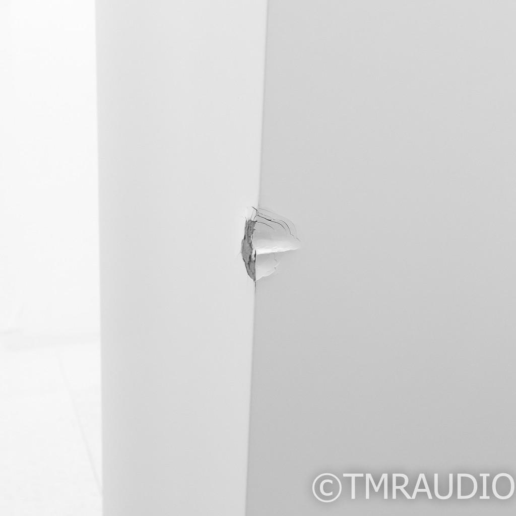 Dynaudio Focus 600 XD Active Floorstanding Speakers; White Satin Pair; Wireless