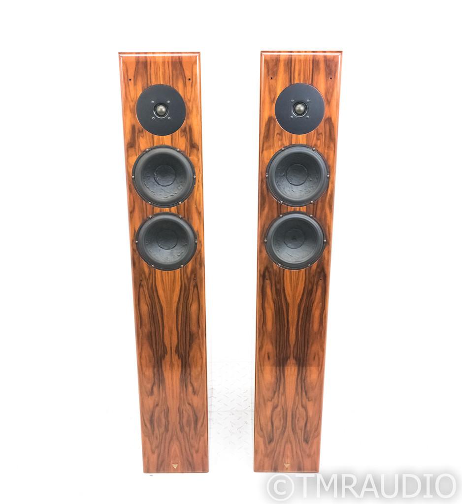 Vienna Acoustics Mahler Floorstanding Speakers; Rosewood Pair