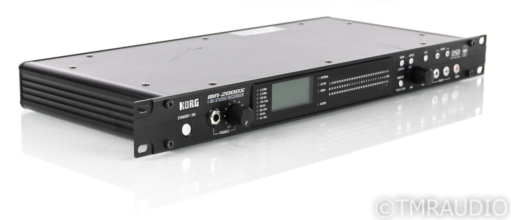 Korg MR-2000S 1-Bit Studio Recorder; MR2000S; DSD; 150 GB HDD