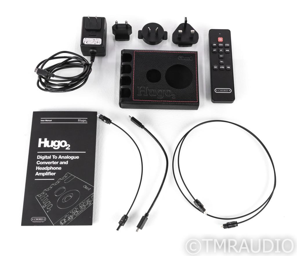 Chord Hugo 2 Portable DAC / Headphone Amplifier; D/A Converter; Bluetooth