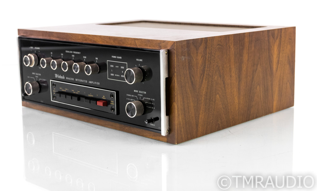 McIntosh MA6200 Vintage Stereo Integrated Amplifier; MA-6200