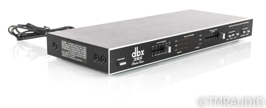 DBX 3BX Series 2 Dynamic Range Expander; 3-BX II