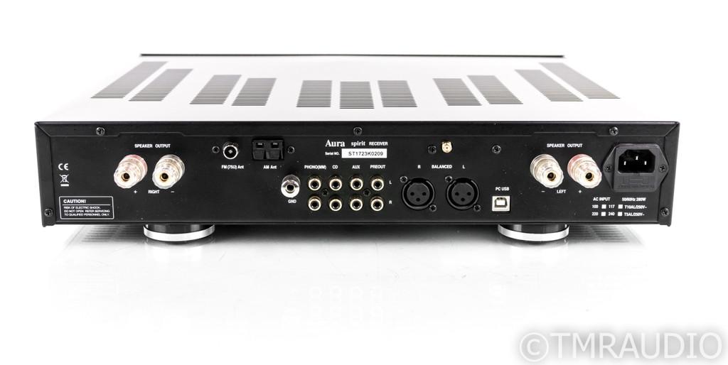 Aura Spirit Stereo AM / FM Receiver; Bluetooth; Phono; Remote