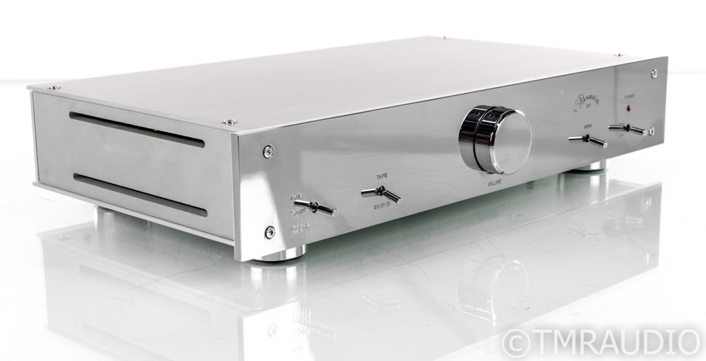 Burmester 897 Stereo Preamplifier; MC Phono; Upgraded w/ WBT RCAs; EMI Shielding