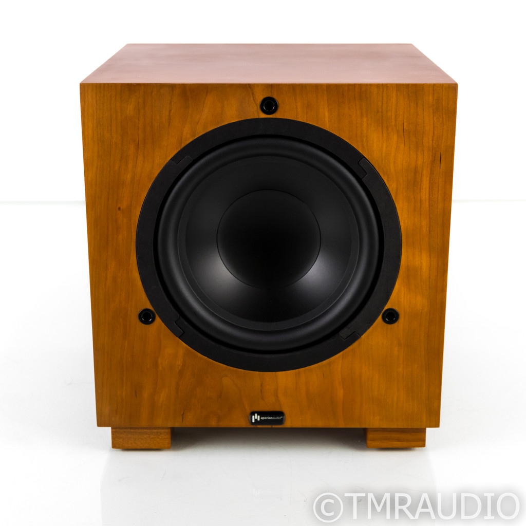 "Aperion Audio S8-APR 8"" Powered Subwoofer; Cherry; S8APR"
